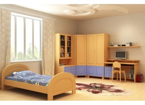 Кровать коллекции Радуга