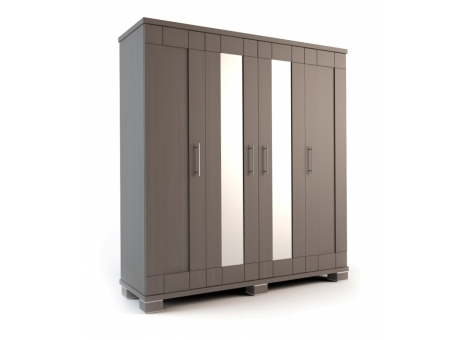 Шкаф 4-х дверный распашной коллекция Карина