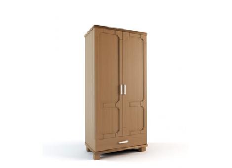 Шкаф 2-х дверный комбинированный коллекция Селена-