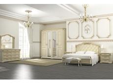 Кровать двойная коллекция элегия