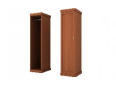 Шкаф для одежды 1 дверный коллекция Каролина