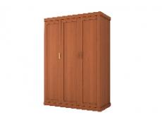 Шкаф для одежды 3дверный коллекция Каролина