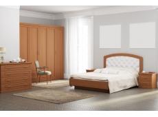 Кровать двойная №2 коллекция Каролина