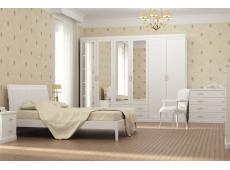 Кровать двойная №1 коллекция Каролина