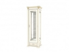 Шкаф с витриной коллекция Элегия