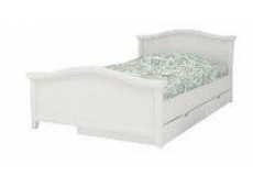 Кровать коллекции Снежана с ящиками и двумя спинками