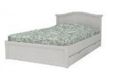 Кровать коллекции Снежана с ящиками и низкой ножной спинкой