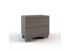 Тумба прикроватная 2 ящика коллекция Карина